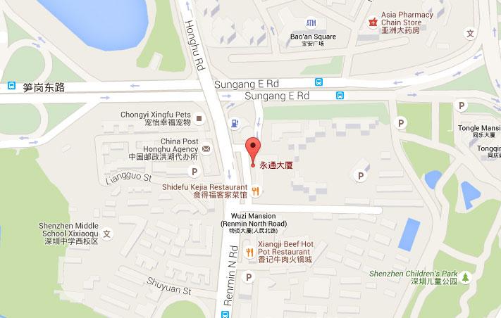 shenzhen-map